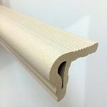 Escaloborde Blanco Medidas : 5x6x36 cm.