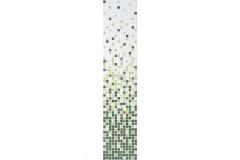 Degradados Ref Esmeralda Descripción: Malla  Formato pieza: 25x25 cm  Placa dimensión: 315x315 mm  Espesor: 4 mm