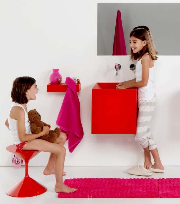 lavamanos boing rojo